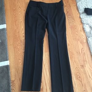 Black bootcut pants